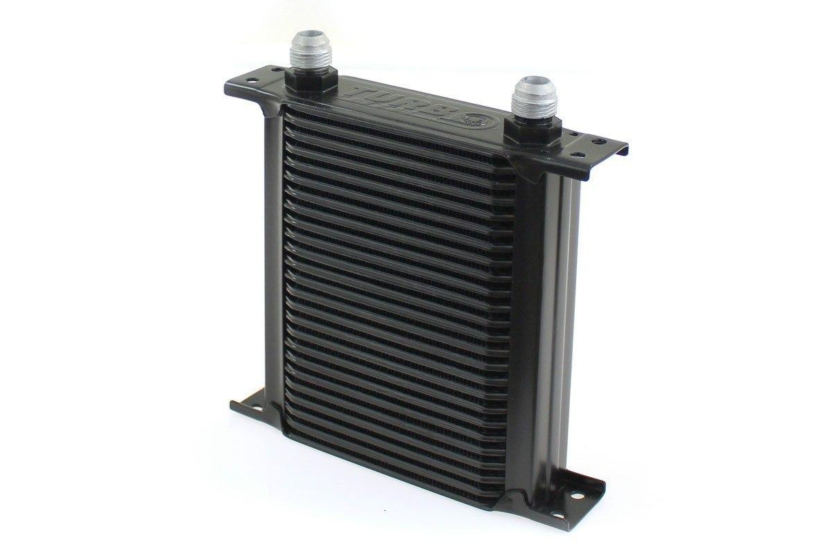 Chłodnica Oleju TurboWorks Slim Line 25-rzędowa 140x195x50 AN10 black - GRUBYGARAGE - Sklep Tuningowy